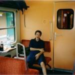 Im Zug nach Insbruck
