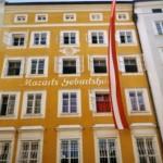 'Mozarts Geburtshaus' in Salzburg