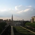 Sicht auf Brüssel