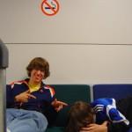 Übernachtung im Flughafen