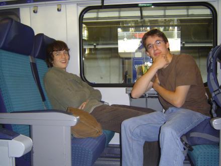 Zugfahrt nach Zürich