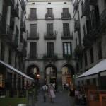 Gasse im Zentrum Barcelonas