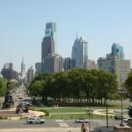 Aussicht auf Philadelphia
