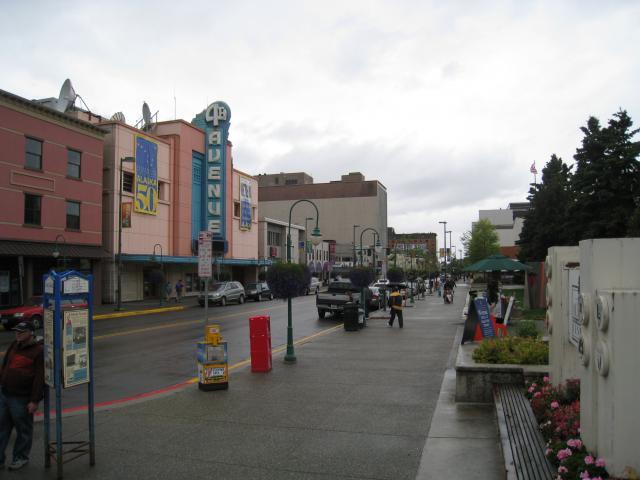 Stadtzentrum von Anchorage