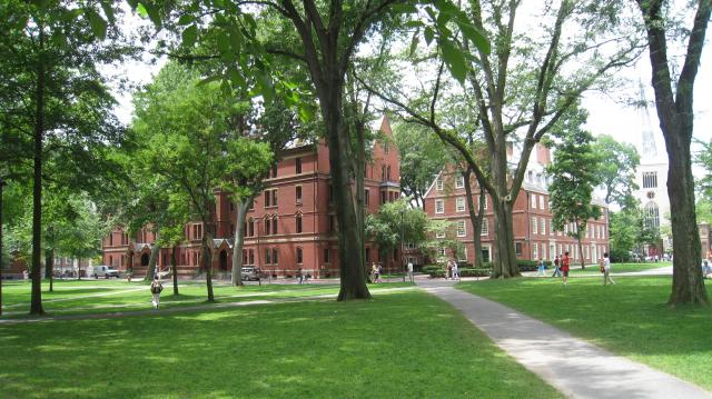 Campus der Harvard University in Cambridge