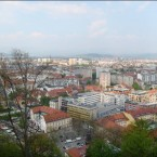 Blick über Ljubljana