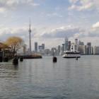 Blick auf Toronto von den Toronto Islands