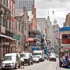 Die legendäre Bourbon Street
