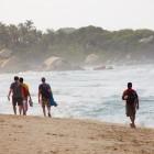 Auf dem Weg zum Playa Cabo San Juan de Guía